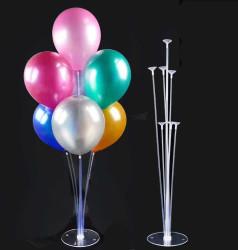7 Çubuklu Balon Süsleme Standı - Büyük 70cm - Thumbnail
