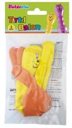 - Balon Tırtıl 20x70 Cm Rengarenk