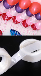 - Balon Yapıştırma Aparatı Sticker Damla Modeli 100'lü Pk.