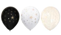 - Balon Yıldız Dore Çepeçevre Baskılı Pk:100 Kl:50