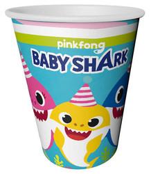- Bardak Baby Shark 220/240cc Pk:8 Kl:54
