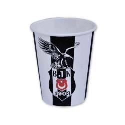 - Beşiktaş Lisanslı Karton Bardak (200 cc) 8'li Paket