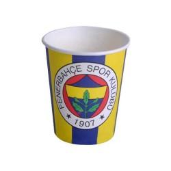 - Fenerbahçe Lisanslı Karton Bardak (240 cc) 8'li Paket