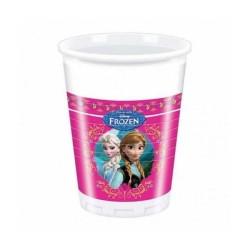 - Frozen Plastik Bardak (200 cc) 8'li Paket