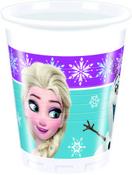 - Frozen Northern Ligths Plastik Bardak (200 cc) 8'li Paket