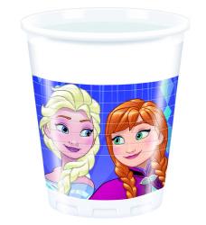 - Frozen Snowflakes Plastik Bardak (200 cc) 8'li Paket