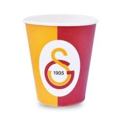- Galatasaray Lisanslı Karton Bardak (240 cc) 8'li Paket