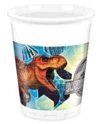 - Jurassic World Plastik Bardak (200 cc) 8'li Paket