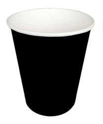 - Siyah Karton Bardak (8 oz / 200 cc) 8'li Paket