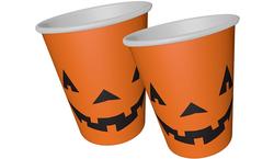 - Bardak Karton Halloween Cadılar Bayramı Balkabağı Turuncu Pk:8 Kl:54