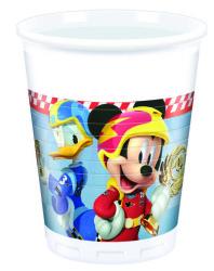 - Mickey Roadster Bardak (8 oz / 200 cc) 8'li Paket
