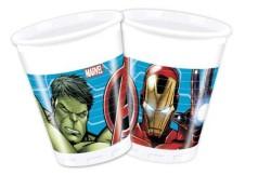 - Mighty Avengers Plastik Bardak (200 cc) 8'li Paket