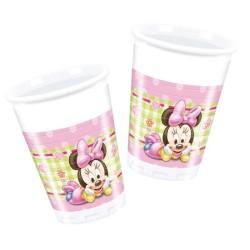 - Minnie Disney Baby Plastik Bardak (200 cc) 8'li Paket