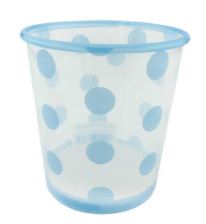 - Dondurma Bardağı Mavi Puantiyeli 500 cc 8 Adet