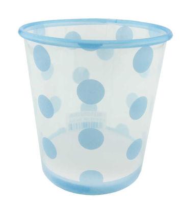 Dondurma Bardağı Mavi Puantiyeli 500 cc 8 Adet