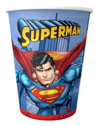 - Superman Plastik Bardak (200 cc) 8'li Paket