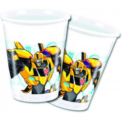 - Transformers Plastik Bardak (200 cc) 8'li Paket
