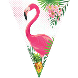- Bayrak Set Flamingo Set
