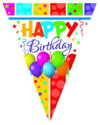 - Happy Birthday Multıcolour 11 Li Set