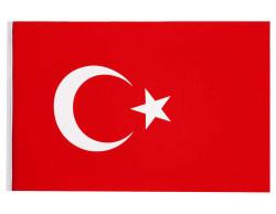 - Türk Bayrağı Kumaş 100x150 Cm