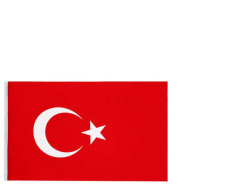 - Türk Bayrağı Kumaş 20x30 Cm