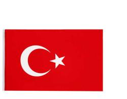 - Türk Bayrağı Kumaş 60x90 Cm