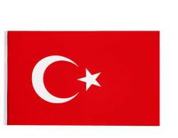- Türk Bayrağı Kumaş 70x105 Cm