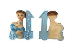 Erkek Bebek Trende Mavi Biblo - Thumbnail