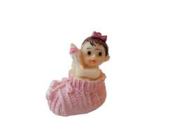 - Ayakabı İçinde Bebek Pembe Biblo