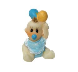 - Balonlu Bebek Mavi Biblo