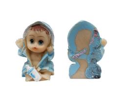 - Bornozlu Bebek Mavi Biblo 50 Adet