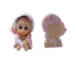 - Bornozlu Bebek Pembe Biblo 50 Adet