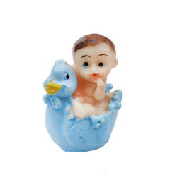 Civcivli Bebek Mavi Biblo