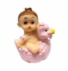 Civcivli Bebek Pembe Biblo