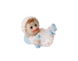 - Kuzu Kostümlü Bebek Mavi Biblo