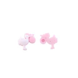 - Leylekli Bebek Pembe Plastik