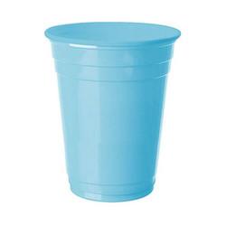 - Bebek Mavisi Plastik Büyük Meşrubat Bardağı (266 cc) 8'li Paket