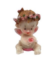 Melek Bebek Pembe Biblo - Thumbnail
