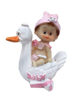 Ördekli Bebek Pembe Biblo