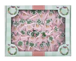 Faytonda Pembe Süslü Bebek Şekeri 50'li Paket - Thumbnail
