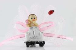 - Beyaz Woswos Pembe Bebek Şekeri