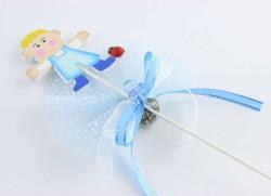 - Çubuklu Çocuk Mavi Bebek Şekeri