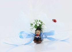 - Mezuniyet Çocuğu Mavi Bebek Şekeri