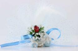 - Motorsiklet Mavi Kutulu Bebek Şekeri