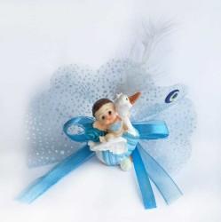- Ördek Üstünde Mavi Kutulıu Bebek Şekeri
