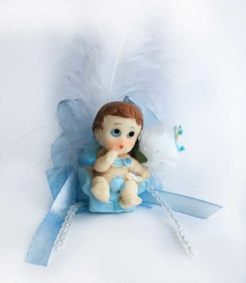 Koltukta Oturan Mavi Bebek Şekeri 50'li Paket