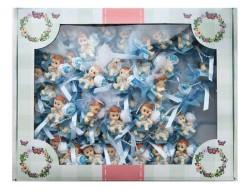 Koltukta Oturan Mavi Bebek Şekeri 50'li Paket - Thumbnail
