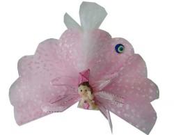 Uçurtmalı Kutulu Pembe Bebek Şekeri 50'li Paket - Thumbnail