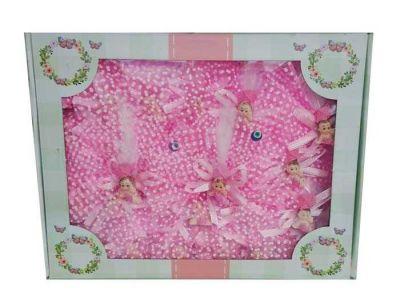 Uçurtmalı Kutulu Pembe Bebek Şekeri 50'li Paket