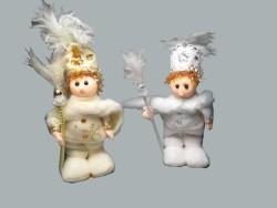Sünnet Pelerinli Bebek Beyaz Şeker Biblosu - Thumbnail